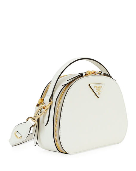 Prada Odette Top-Handle Bag In White
