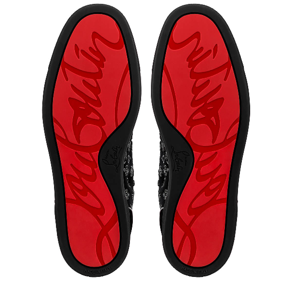 CHRISTIAN LOUBOUTIN LOUIS ORLATO MEN'S FLAT