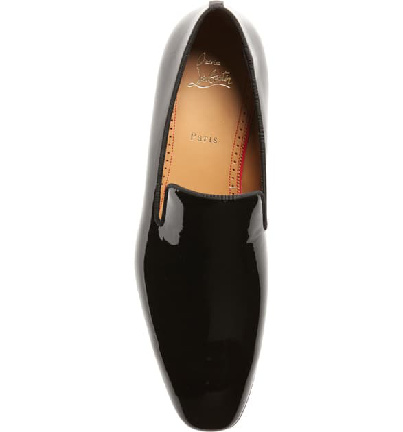 a2d4bfea299 Dandelion Patent Leather Venetian Loafers in Black