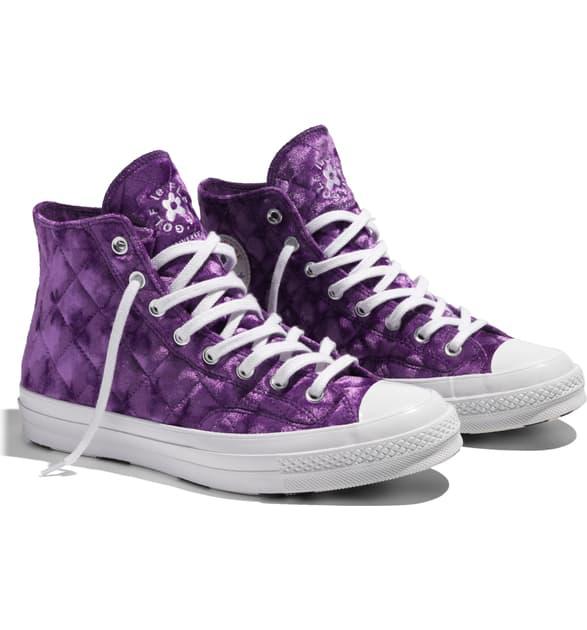 Converse X Golf Le Fleur* Chuck 70 High Top Sneaker In Pullpurplwh