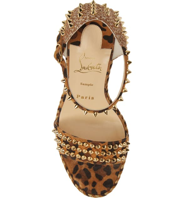 5958ec02786 Mad Monica Leopard Red Sole Wedge Espadrilles