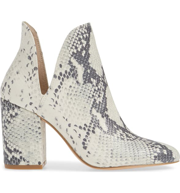 4ea27305449 Rookie Bootie in Natural Snake Print