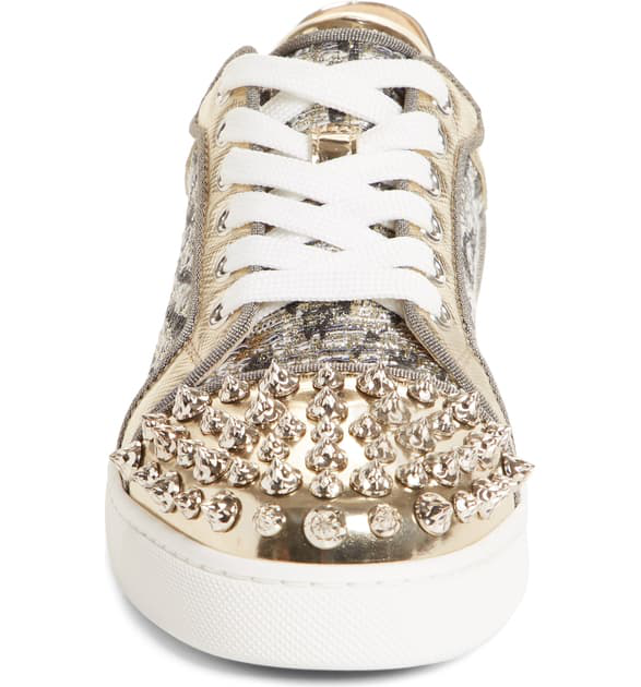 da176ff1a57 Vieira Spikes Embellished Sneakers in Silver