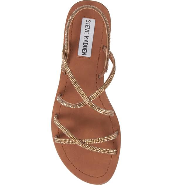 033c66130c4 Rita Embellished Strappy Sandal in Bronze Multi