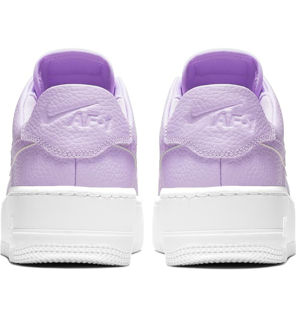 newest 8cbb7 9cfda Women's Af1 Sage Xx Low Casual Shoes, Purple in Oxygen Purple/ White