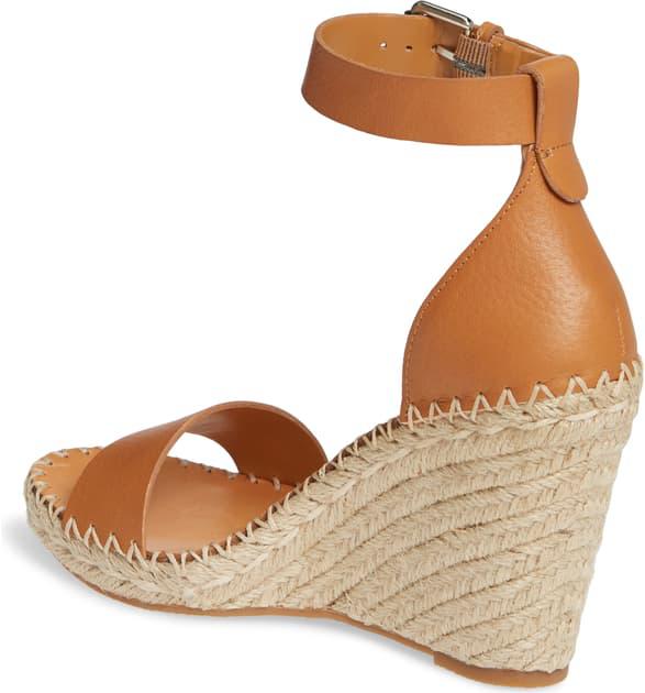 19f8170d700 Women's Noor Espadrille Wedge Sandals in Tan Leather