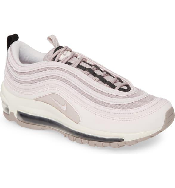 Nike Air Max 97 Sneaker In Pale Pink/ Violet Ash/ Black | ModeSens