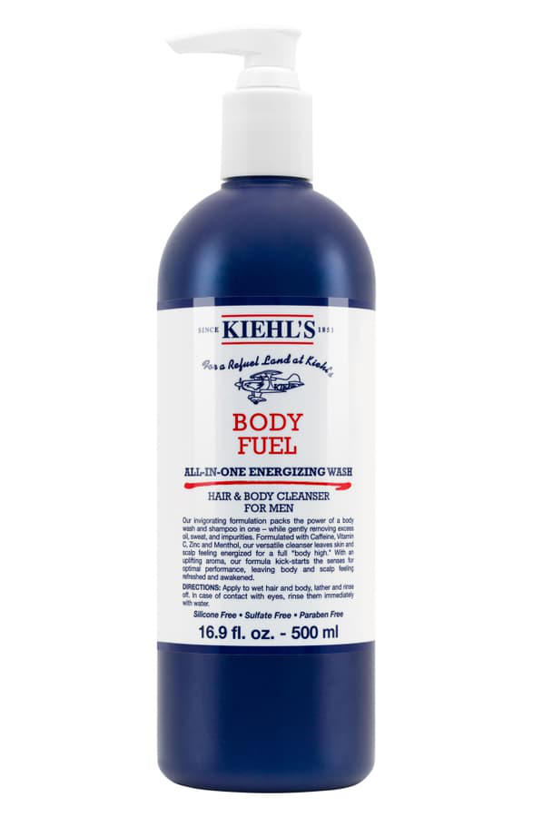Kiehl's Since 1851 1851 Body Fuel All-In-One Energizing Wash 16.9 Oz/ 500 Ml In 500Ml