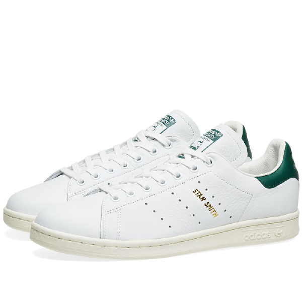 sports shoes 42939 c22ad Adidas Originals Stan Smith Leather Sneakers In White M20324 - White