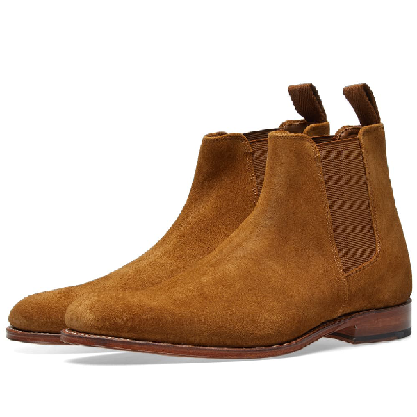 408ec03f592 'Declan' Suede Chelsea Boots in Brown