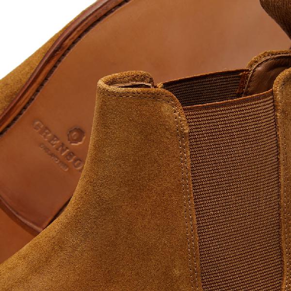 077d312dd98 'Declan' Suede Chelsea Boots in Brown
