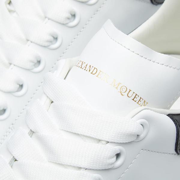 Alexander Mcqueen Wedge Sole Low Sneaker In White
