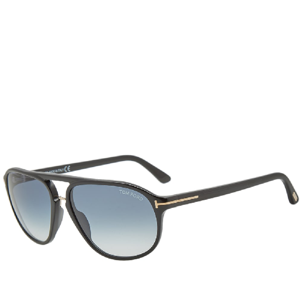 high fashion wholesale shopping Tom Ford Ft0447 Jacob Sunglasses In Black | ModeSens