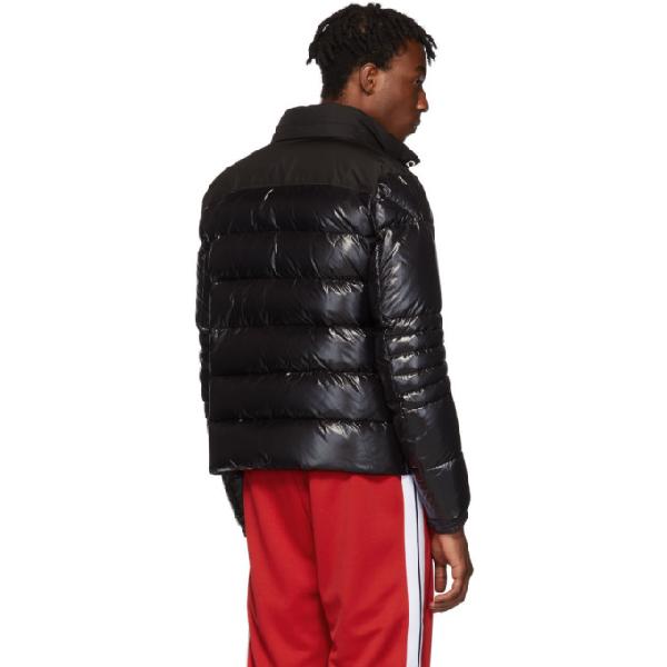 0bbe3b696 Bruel Mixed-Media Down Jacket in Black