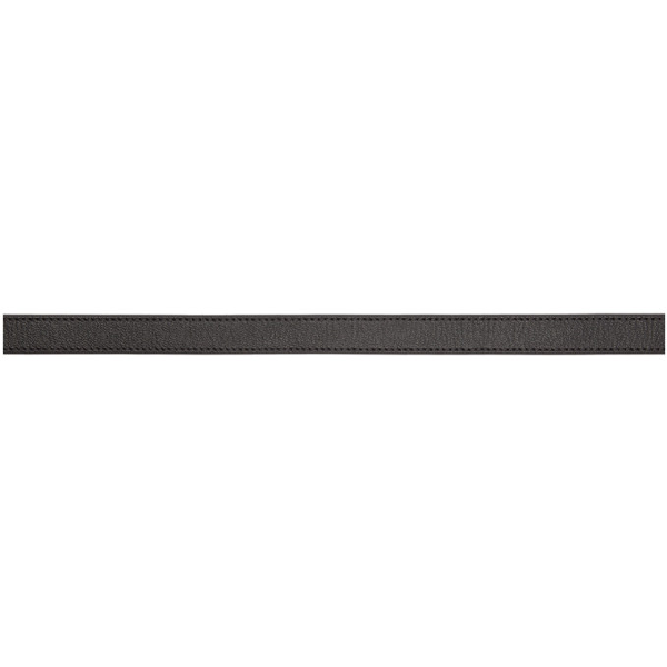 Givenchy Calfskin Leather Belt W/ Double-G Logo Buckle In 001 Black