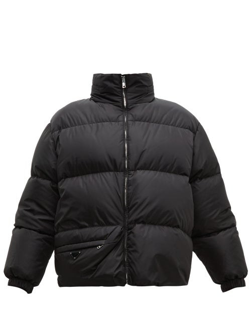 PRADA Down and feather-filled technical jacket