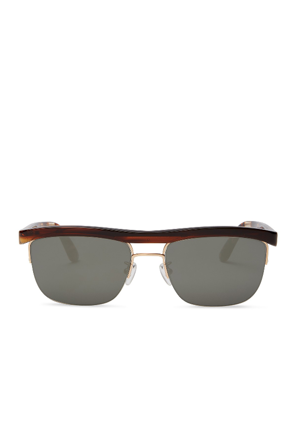 Toms Locke 56Mm Brow Bar Sunglasses In Open Miscellaneous