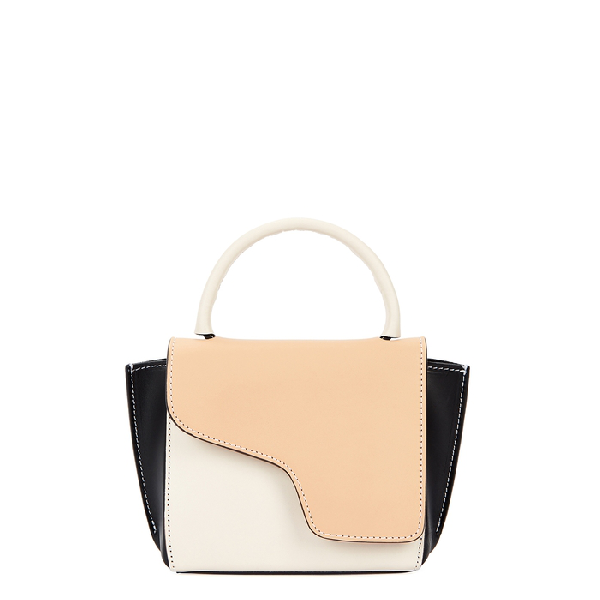 Atp Atelier Montalcino Panelled Leather Cross-Body Bag