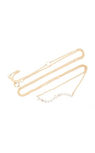 e1b31bf80267c 14K Gold Diamond Necklace in White