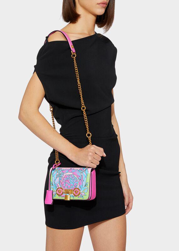 be016d3f27 Small Technicolor Baroque Print Icon Bag