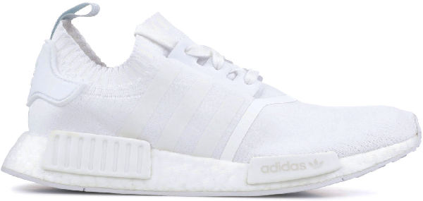 Pre Owned Adidas Originals Adidas Nmd R1 Cloud White W In Cloud