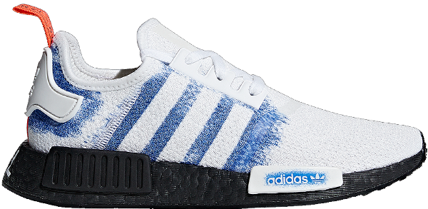 Pre Owned Adidas Originals Adidas Nmd R1 Atl In White Blue Black