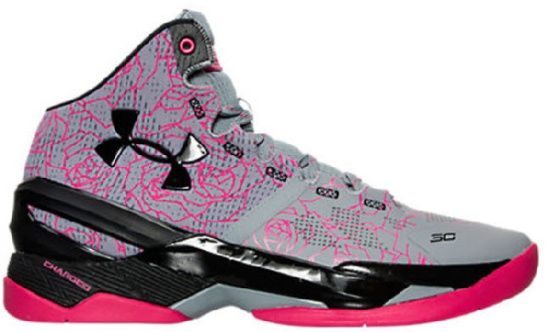 low priced 5d1a2 a0215 Ua Curry 2 Mothers Day in Light Grey / Black - Pink
