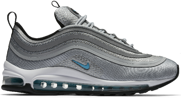 Pre Owned Nike Air Max 97 Ultra 17 Marina Blue W In Wolf Grey