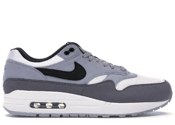 air max 1 black white wolf grey