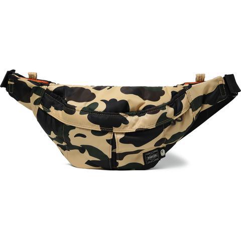 c4bdbcb4 Bape X Porter 1St Camo Waist Bag (Ss18) Yellow | ModeSens