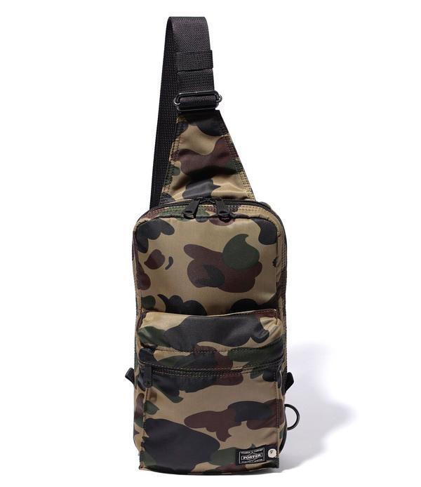 ee7bd51c Bape X Porter 1St Camo One Shoulder Bag Green | ModeSens