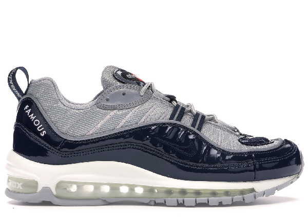 the best attitude afc71 75fca Air Max 98 Supreme Obsidian in Obsidian/Obsidian-Reflective-Silver-White