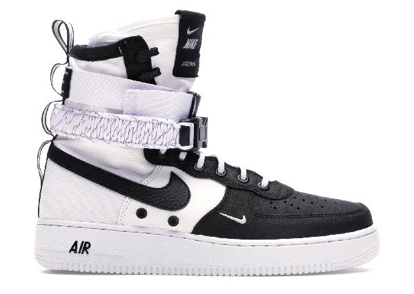 Pre Owned Nike Sf Air Force 1 High Panda In White White Black