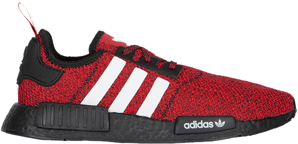 Pre Owned Adidas Originals Adidas Nmd R1 Carbon Red White Black In