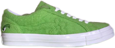 Pre Owned Converse One Star Ox Grinch Golf Le Fleur In Green Egret Modesens