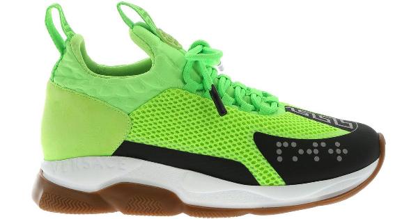 a582b675 Versace Men's Cross Chainer Neoprene & Mesh Sneakers In Green | ModeSens