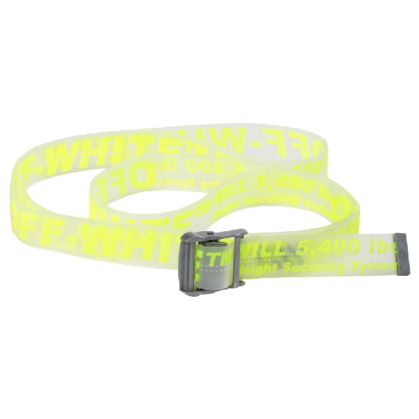 560369c8 Off-White Rubber Industrial Belt (Ss19) Fluo Yellow | ModeSens