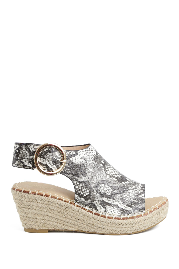 differently good selling unique design Catherine Catherine Malandrino Cirkly Espadrille Wedge Sandal In ...