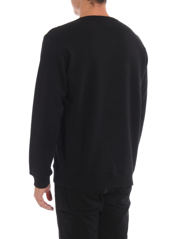 Givenchy Logo Embellished Black Sweatshirt