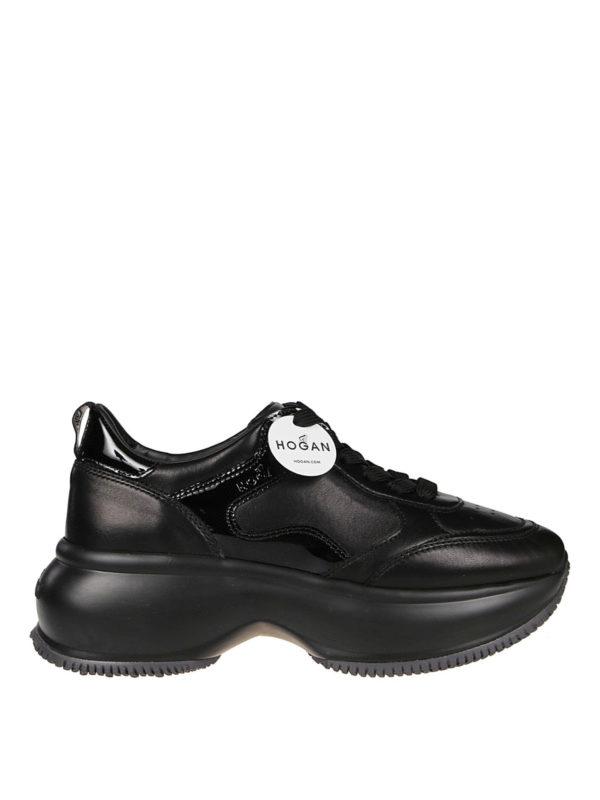 Hogan Maxi I Active Sneakers In Black | ModeSens