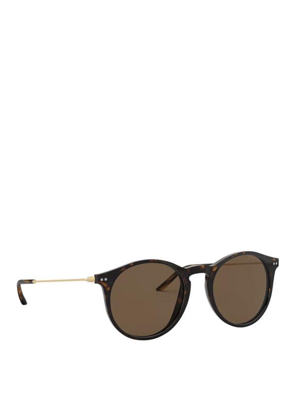 b2dfb386f0 Tortoiseshell Pantos Sunglasses in Dark Brown