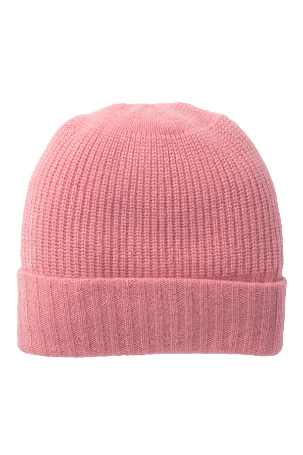 7e75243f9 Cashmere Beanie in Orchid Pink