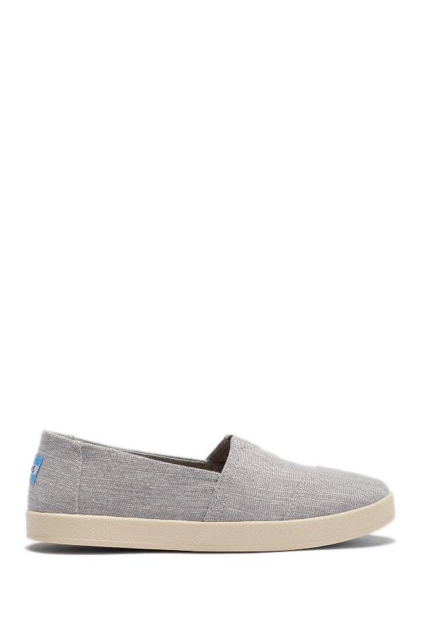 Toms Avalon Slip-On Sneaker In Grey