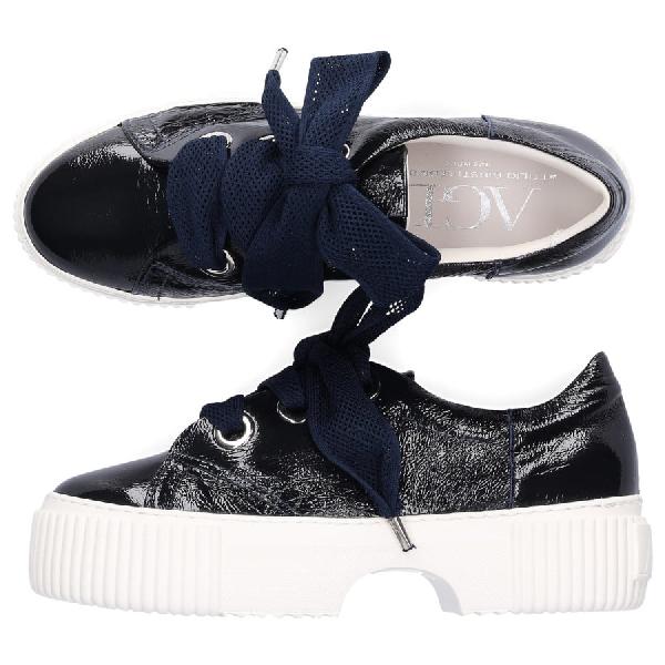 Sneaker Low D925095 Kalbsleder Blau In Blue
