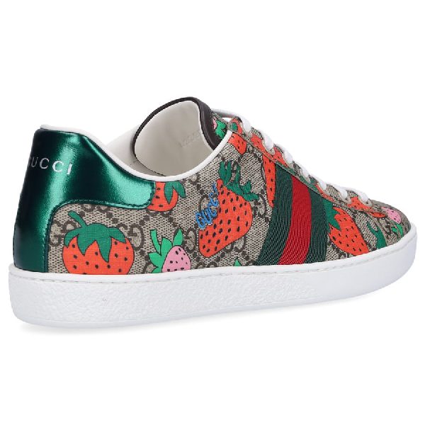 Gucci Low-Top Sneakers Ace Sneaker In Multicolour