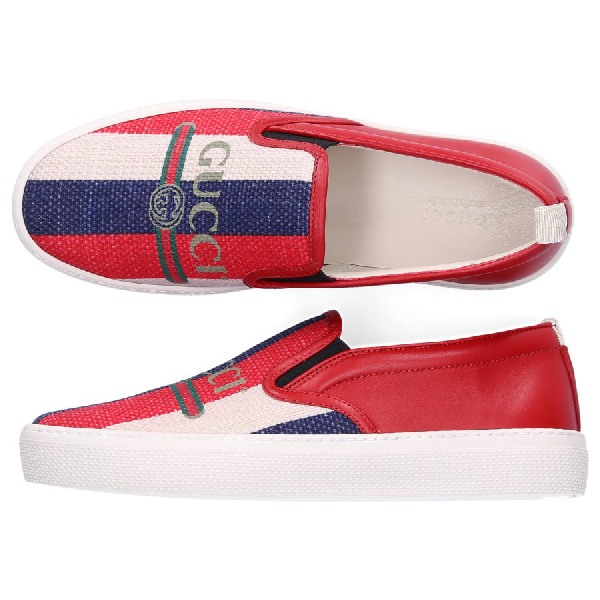 Gucci Low-Top Sneakers 9Sp50 In Red