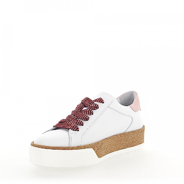 White Sneaker Cork Leather R320 Rose Smooth mv8Nnw0