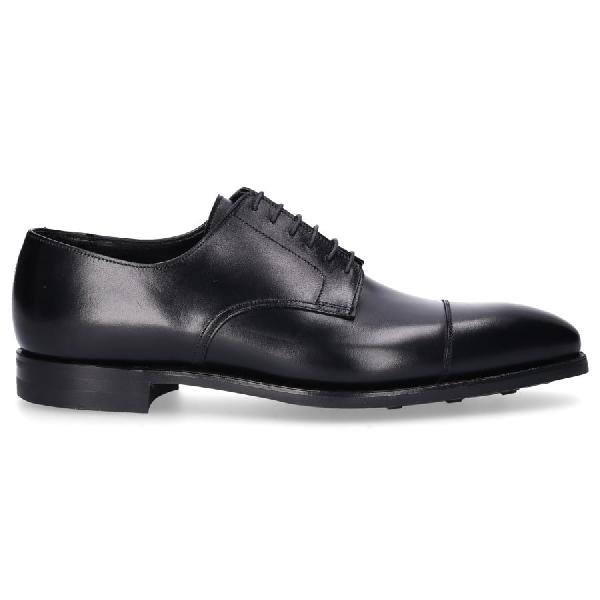 Crockett & Jones Business Shoes Derby Prestwood  Calfskin Black