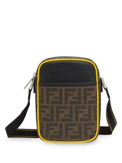 a2a6737c Fendi Small Ff Cross-Body Bag - Brown