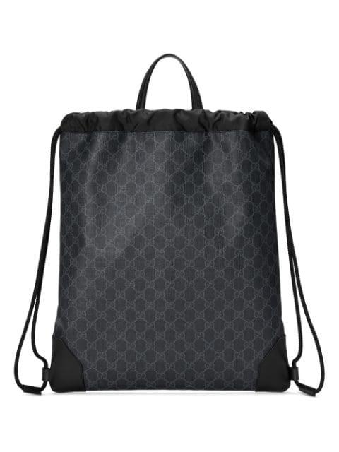 22cce5251 Soft Gg Supreme Drawstring Backpack in Black